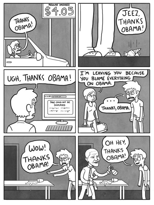 Thanks Obama. . Thanks Obama