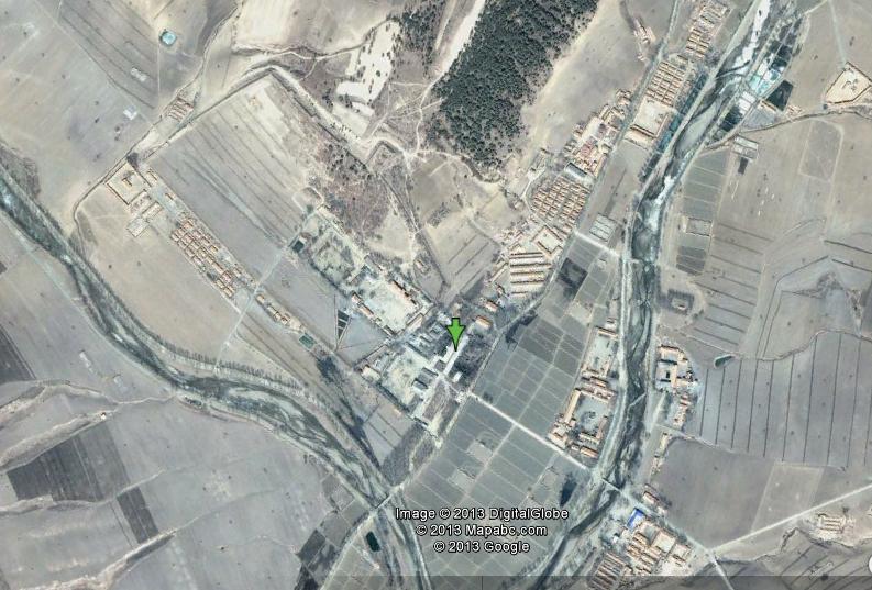 "That odd moment. That odd moment when you find a north korean prison camp. 42°32'17""N 129°56'08""E."