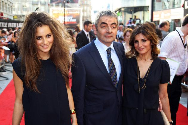 The Beans. Rowan Atkinson and family.. I don't even see any Mexicans. The Beans Rowan Atkinson and family I don't even see any Mexicans
