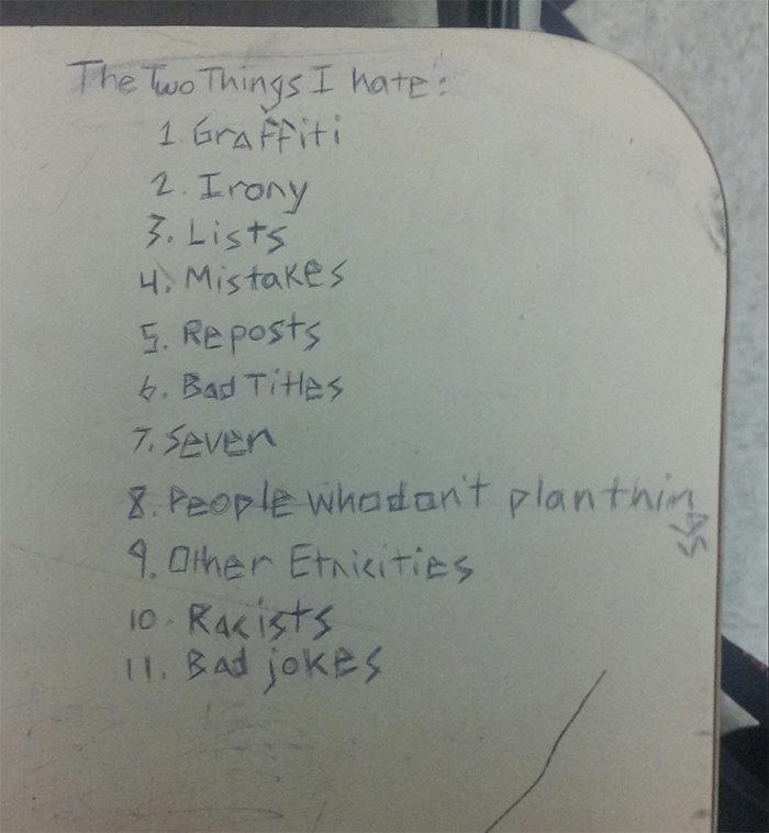 The List. . 1 Era, it' iri. 12. Long Lists The List 1 Era it' iri 12 Long Lists