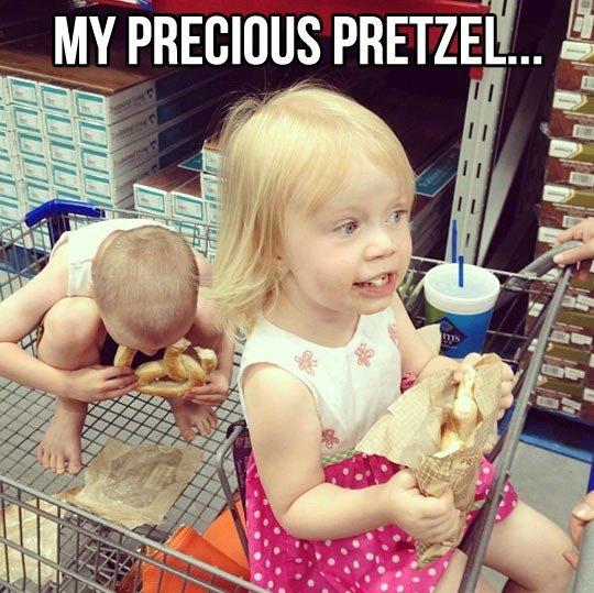 The precious pretzel. . The precious pretzel
