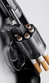 The Smoking Gun.... get it?. lung cancer