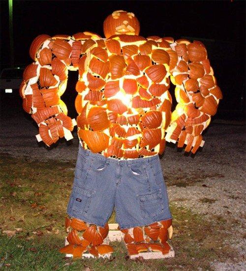 The thing. yo pumkin carvin. thing Pumpkin Halloween carving