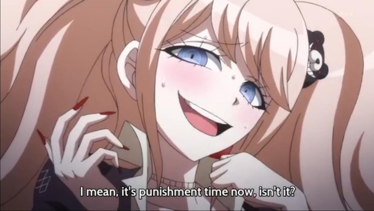The way she likes it. sometimes just gotta give a girl what she wants. Anime Danganronpa junko enoshima Moe