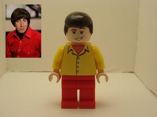 The Big Bang theory lego wolowitz. Recognized.. do moar wolowitz Lego jew