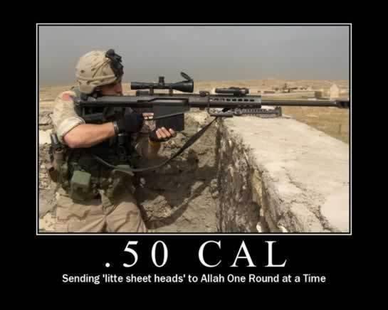 """The U.S. :D. we own the """"little sheet heads"""". Sending 'litte sheet heads' to Allah One Round at an Time. head shot little sheet heads"""