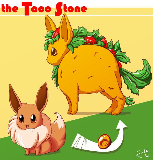 The Taco Stone. . . . .. the Tao. TTTTTTTTTAAAAAAAAAAAAAAAACCCCCCCCCCCCCOOOOOOOOOOOOOOOOOO Pokemon evee Taco stone funny lol