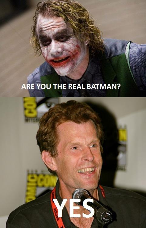 The Real Batman. Can't wait for Arkham City to be realised so here's a [very] short Batman comic. Enjoy.. batman joker Kevin Conroy heath ledger