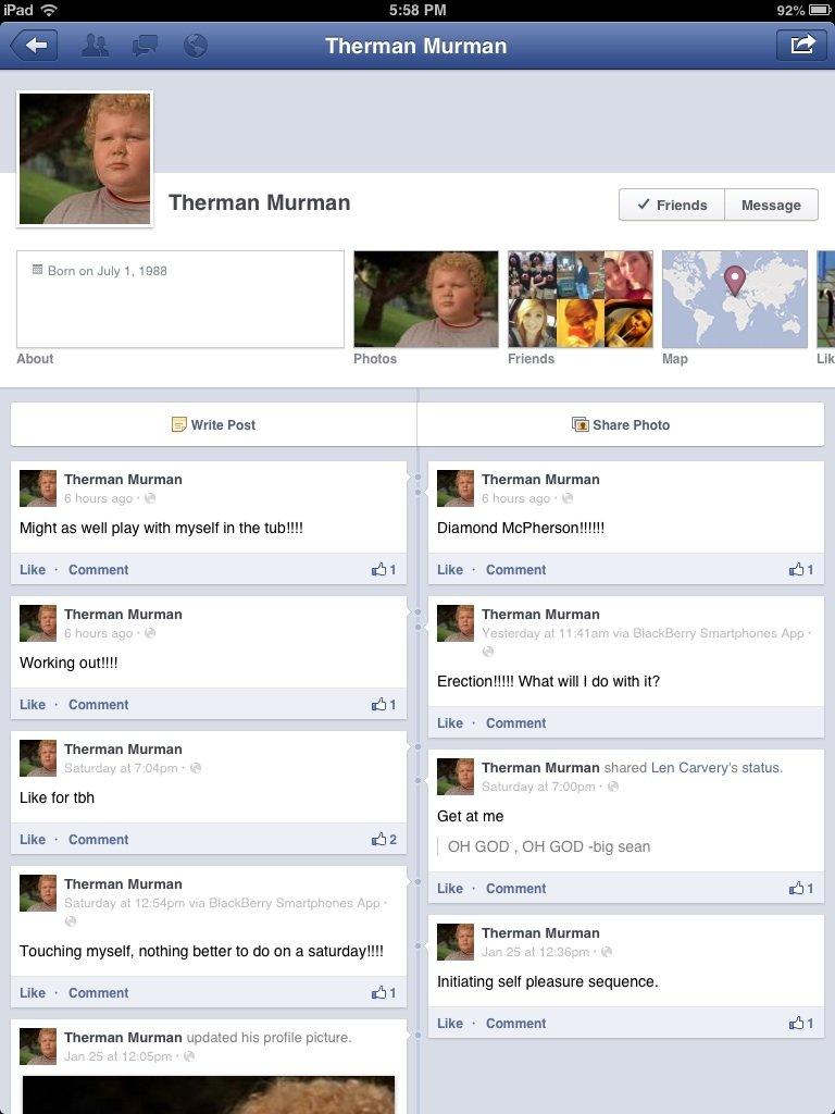 Therman Herman. I love you.. Ill MII PM Theomen ' ' Therman Merman . I Friends . Message . About Lik E) Write Fest Share Phote Theomen Mermen ' . Theomen Mermen forever alone
