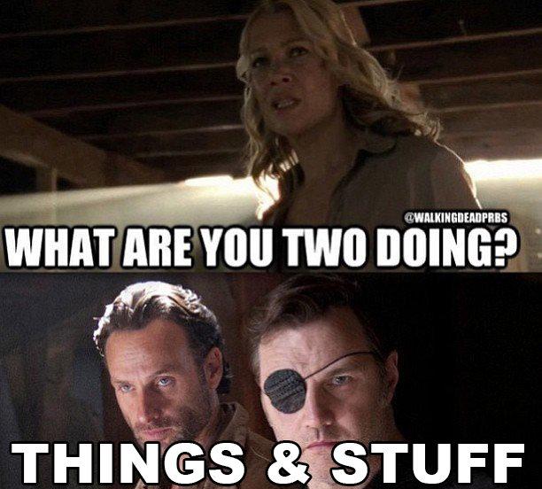 Things & Stuff. Yep... Jumping on the bandwagon.... word
