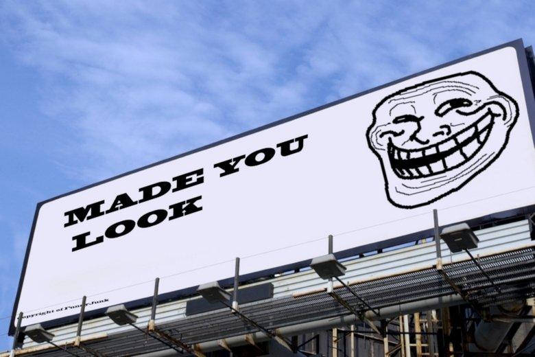 This Billboard Won the Game. 1000 thumbs I make brick billboard . Billboard Porn car won troll Face win lose game Gay justin Bieber made You look