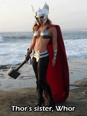 Thor's Sister. . Thor' s sister, VI/ her Thor's Sister Thor' s sister VI/ her