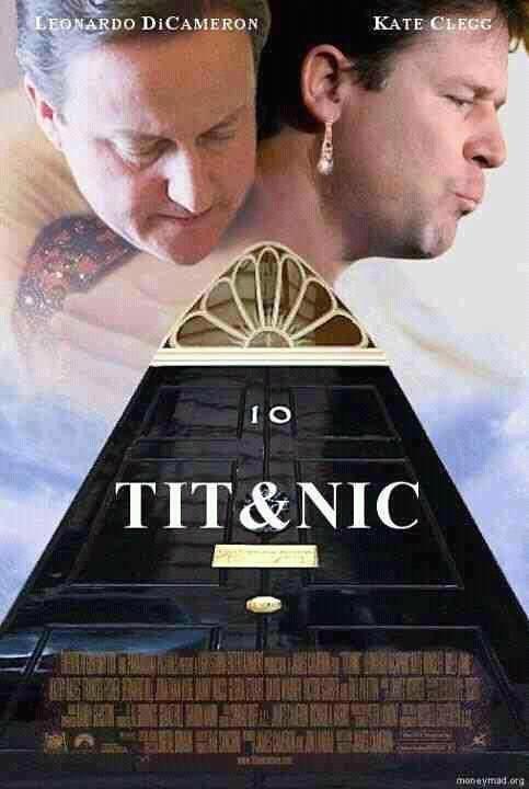 TIT&NIC. Brits.. lololololol no