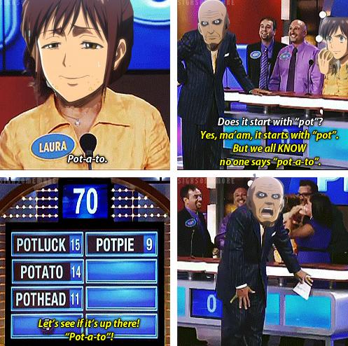"Title. Anime is ""Shingeki no Kyojin"". Yes, tha' am, twitard? with ""pot"", , Title Anime is ""Shingeki no Kyojin"" Yes tha' am twitard? with ""pot"""