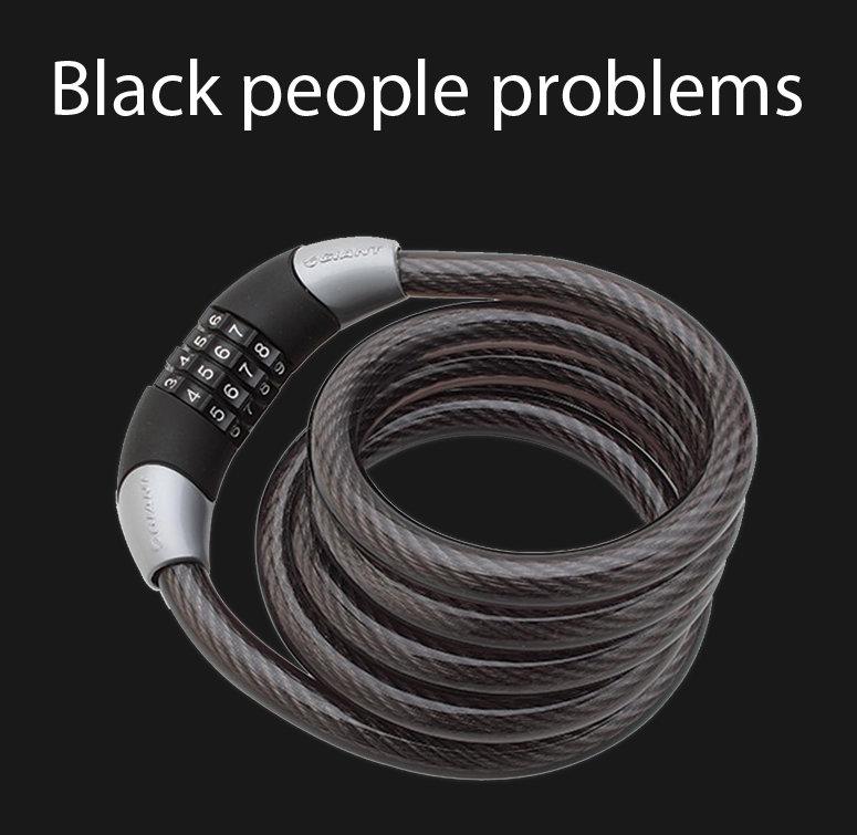 Title. Description. Black people problems tags