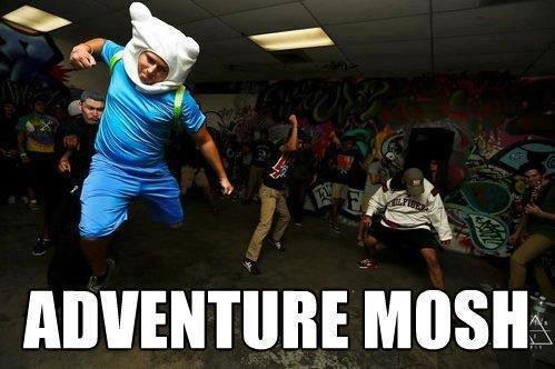 Title. . adventure mosh Time finn