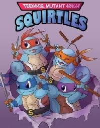 TMNS (teenage mutant ninja squirtles). Admit it. This would be epic. Pokemon Squirtles mutants ninjas teenage