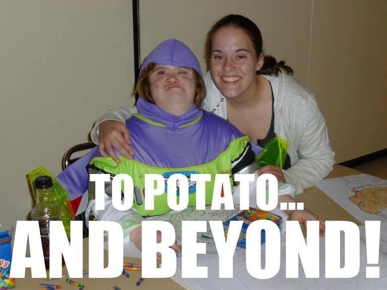 To potato. AND BEYOND. To potato AND BEYOND