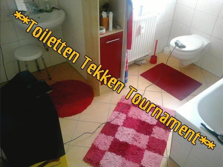 Toiletten Tekken Tournament. see title. fresh oc