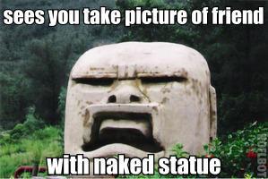 tourist-oblivious statue. . FIJI! HIKE ' B tta tourist-oblivious statue FIJI! HIKE ' B tta