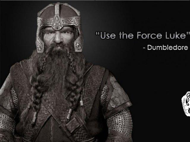 """Troll Quotes. . Dumbledore ilgili. """"Use the Force Luke"""". CHIDORI!!!! -Barack Obama"""