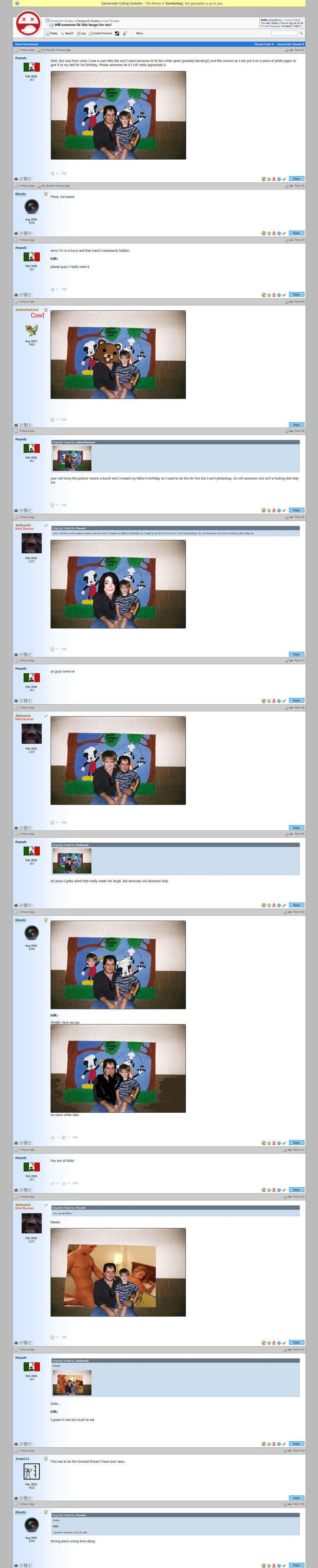 Trolling with Photoshop. off. Ronok - anino call' INF. onom/ 2 u an DEEP await emu 1 n muslums autumn 1 cam: Raina - call: 2 Solo»! 2 Photoshop troll trolling