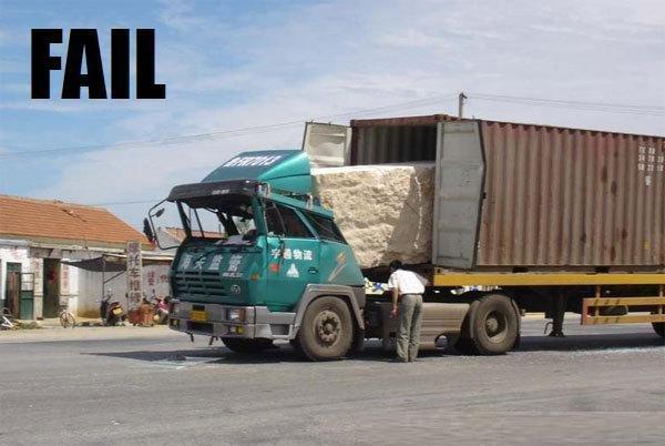 Truck FAIL. TRUCK FAIL. truck fail