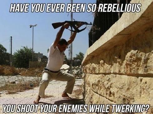 Twerrorists. .. Imagine twerking to the firing rate of your weapon. Twerrorists Imagine twerking to the firing rate of your weapon