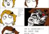 Life of a Lesbian: Comic 1