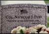 Did anybody notice Nick Fury's grave?
