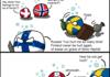 Scandinavia a normal weekend