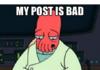 I delete those posts...