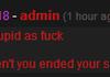 a kind and fair admin