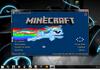 Rainbow Dash Nyan Cat Minecraft Menu