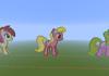 The flower Trio Pixel art