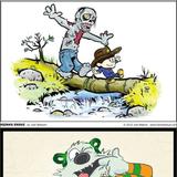 <b>Calvin</b> & <b>Hobbes</b> Crossovers