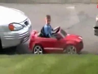 Expert Kid parking. watch this kid do his expert parking.. ladies and gental man...the next vin diesel
