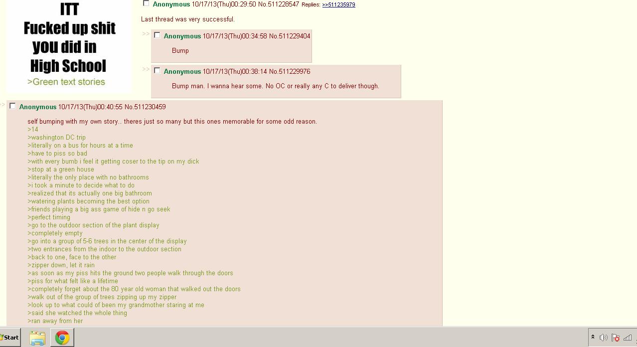4chan. Found this on /b/. m I' Anonymous 10/ 17/ 13( Thu) . 29: 50 No. 511228547 Replies: :? s lat! rlly, shit I' / 17/ 13( Thu) . 34: 58 No. 511229404 let Bump 4chan Found this on /b/ m I' Anonymous 10/ 17/ 13( Thu) 29: 50 No 511228547 Replies: :? s lat! rlly shit / 34: 58 511229404 let Bump
