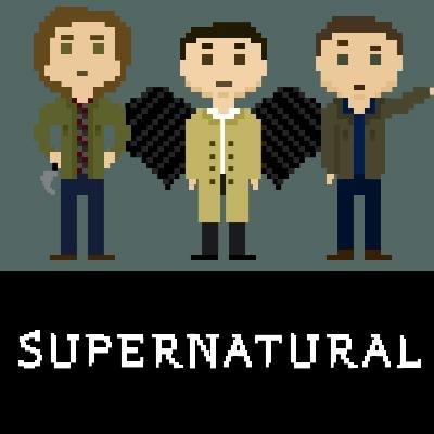 8-Bit Supernatural. From their facebook :3. Scra' 8-Bit Supernatural From their facebook :3 Scra'