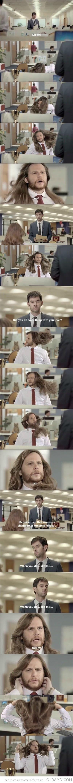 da hair tho. . da hair tho