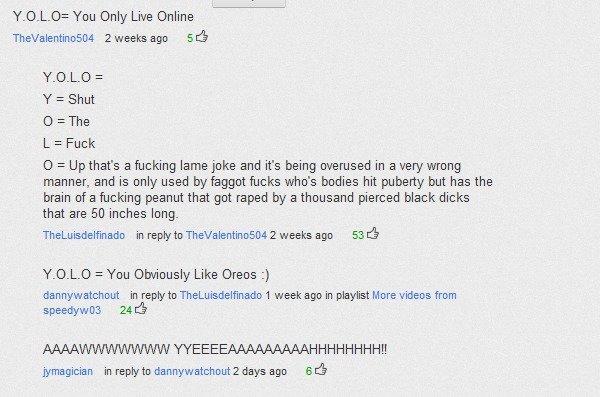 Dafuq did i read?. Oh yea, youtube comments.... Dafuq did i read? Oh yea youtube comments