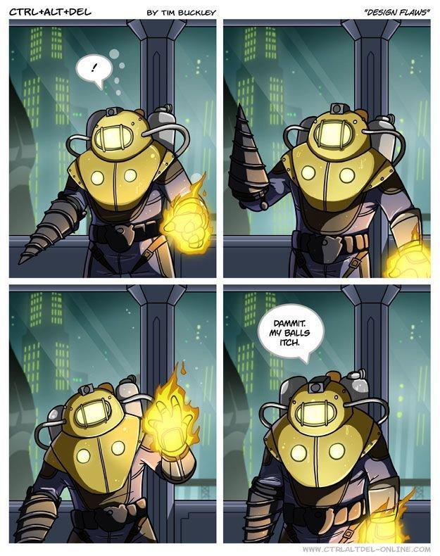 Damn it.... . RAMS'. REPOST ! But I love Bioshock... thumb up for you Damn it RAMS' REPOST ! But I love Bioshock thumb up for you