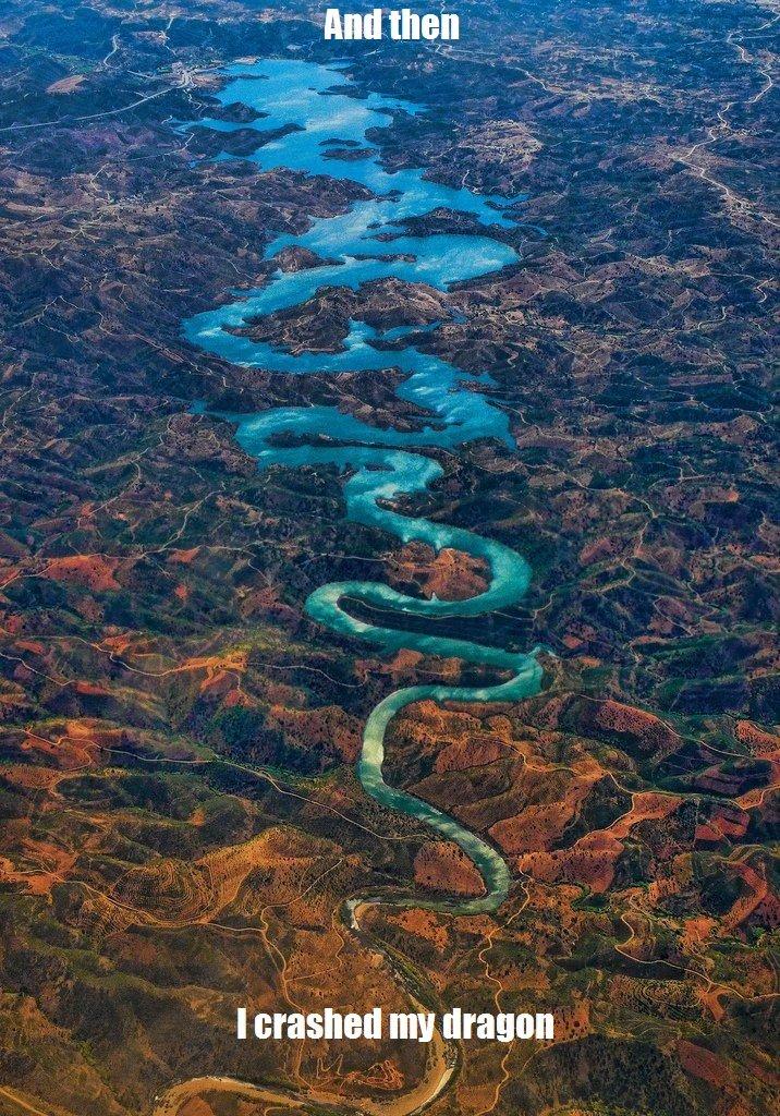 damn. odeleite river portugal.. Anyone? odeleite river p
