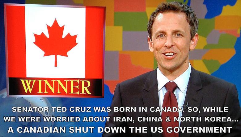Damn, you Hosers!. Pour le Québec: Condamnez-vous les Canadiens! Source: SNL La source. : SNV. TED CRUZ WAS BORN IN CAI! J' -ID! -1. so, WHILE WE WERE WORRIED A Damn you Hosers! Pour le Québec: Condamnez-vous les Canadiens! Source: SNL La source : SNV TED CRUZ WAS BORN IN CAI! J' -ID! -1 so WHILE WE WERE WORRIED A