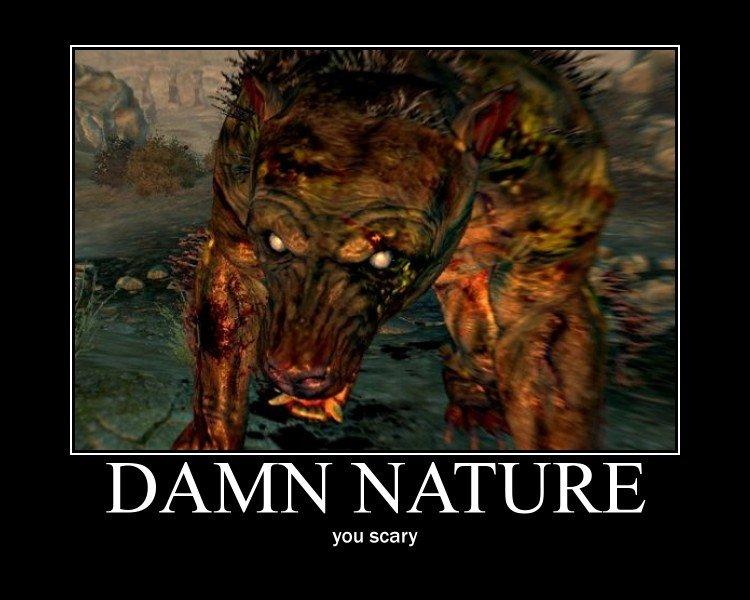 damn nature. . damn nature yao guai Fallout