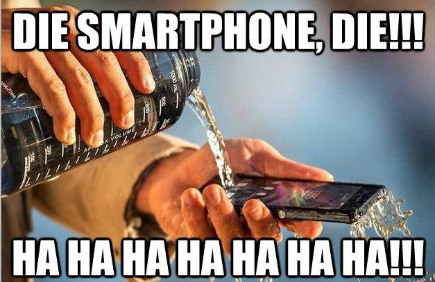 dancing. :$.. It's a waterproof phone this Kills the Phone