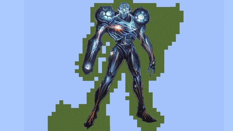 Dark Samus Pixel Art. There, i said five words... Why the red thumbs? dark samus mega