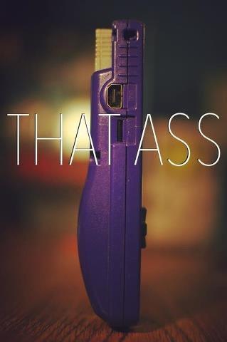 DAT ASS. Best ass i've ever seen.. big booty bitch in Purple spandex