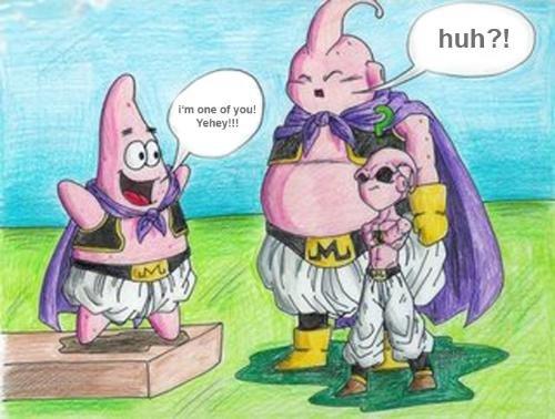 DBZ spongebob. I love DBZ! ._.. funny dbz