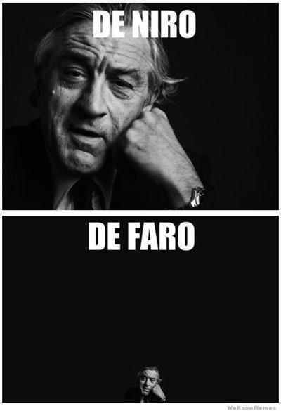 De Faro. . celebrity puns funny lol